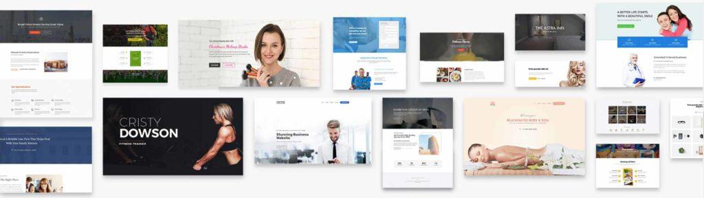 Astra 提供免費版、付費版網站版型選擇使用