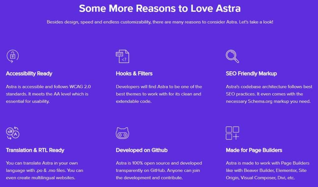 Astra 6大功能特色