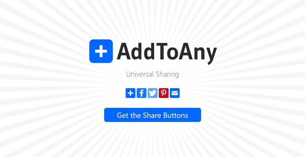 AddToAny設定WordPress分享按鈕